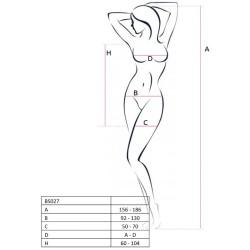 queen corset darwin blanco talla s