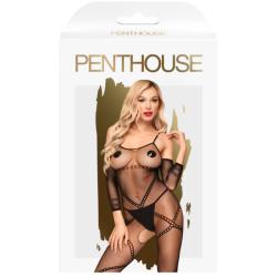 leg avenue medias cirque en color nude negro