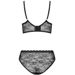 queen lingerie set 2 piezas con liguero talla unica