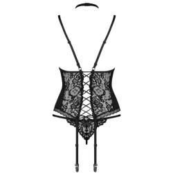 queen lingerie original culotte bordado negro