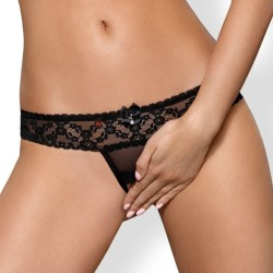 queen lingerie panty negro talla unica