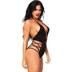 queen lingerie teddy negro ii