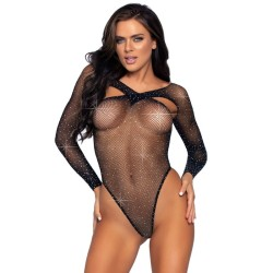 leg avenue mini dress with cut out accent 81535 one size