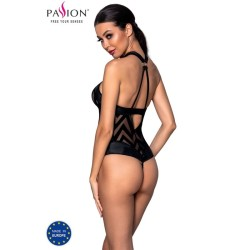 brasilian peignoir 2pc negro vestido y tanga s m