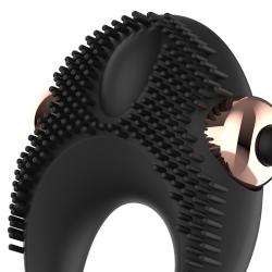 perfect fit plug tunnel silicona negro m