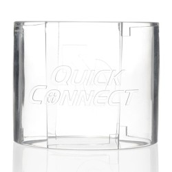 funda transparente con puntos estimulantes 142 cm