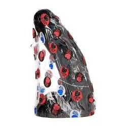 desir metallique esposas malla metalica negra