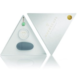 secretplay plug anal aluminio transparente 8cm