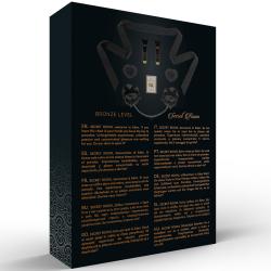 sportsheets plug metal conejito midnight negro