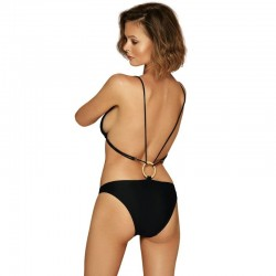 ALL BLACK DILDO REALISTICO 18CM