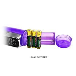 ovo k2 vibrador conejito estimulador lila blanco