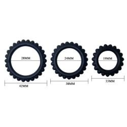 baile titan cockring black green 2cm