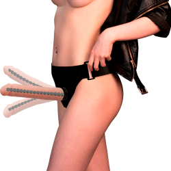 anal rod ridge estimulador anal 19cm